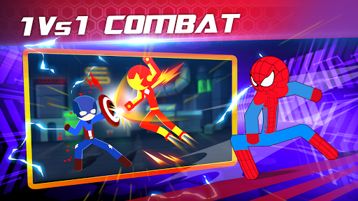 Super Stickman Heroes Fight 2.5 screenshots 1