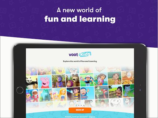 Voot Kids-Cartoons, Books, Quizzes, Puzzles & more screenshots 1