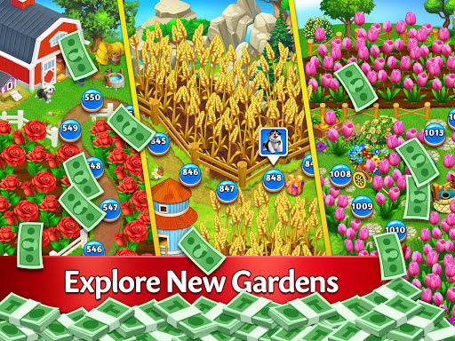 Solitaire Garden - TriPeaks Story 1.8.1 screenshots 12