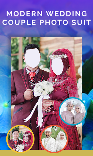 Modern Muslim Wedding Couple Photo Suit 1.3 Screenshots 3