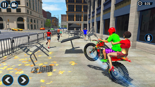 Extreme Rooftop Bike Rider Sim : Bike Games 2.9 screenshots 2