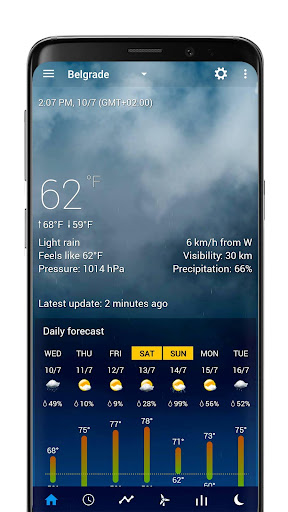 Realistic animated weather backgrounds add-on 2.0.1 Screenshots 3