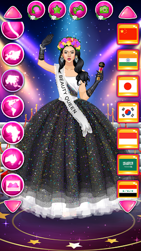 Beauty Queen Dress Up - Star Girl Fashion 1.2 Screenshots 5