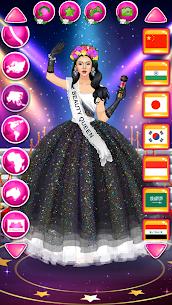 لعبة أزياء ملكة الجمال موضة الفتاة النجمة 5
