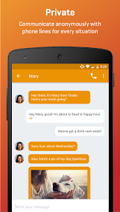 Burner APK for Android : Private Phone Line for Text and Calls 1