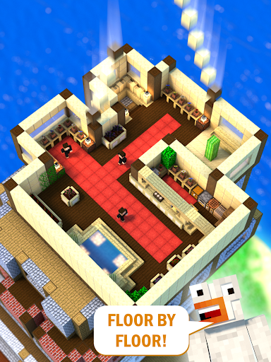 Tower Craft 3D - Idle Block Building Game  screenshots 6