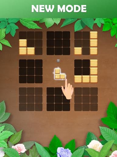 Wood Block Puzzle: Reversed Tetris & Block Puzzle android2mod screenshots 11