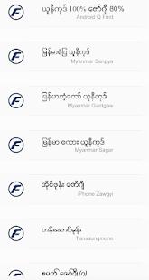 TTA RealOp Unicode Myanmar Font 1.3 Screenshots 6