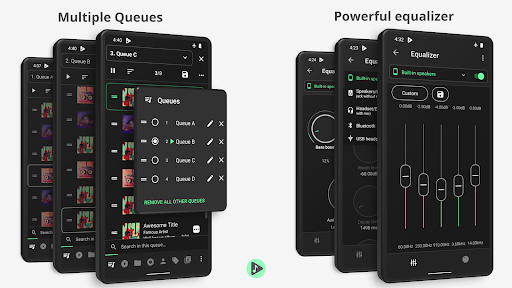 Musicolet Music Player  screenshots 2