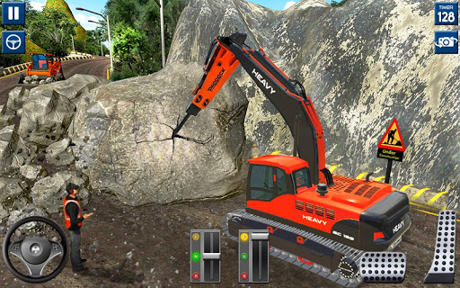 Heavy Excavator Simulator 2020: 3D Excavator Games modavailable screenshots 2