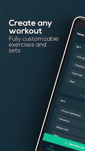 Workout Timer Custom Intervals android2mod screenshots 1