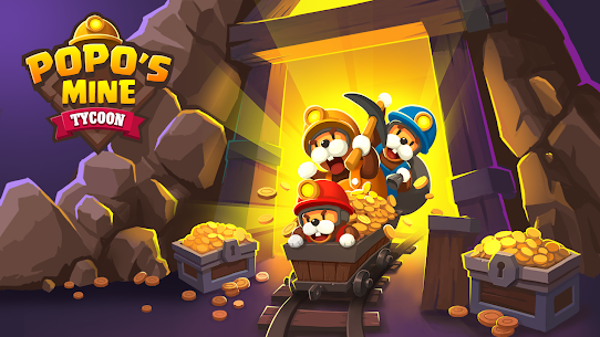 Popo's Mine – Idle Mineral Tycoon Mod Apk (Unlimited Diamonds) 3