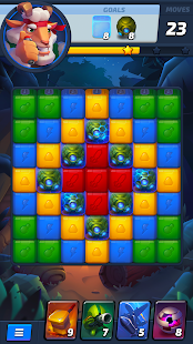 Rumble Blast – 3 in a row games & puzzle adventure