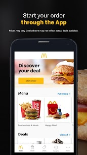 McDonald's  Apps on for PC – Windows 7, 8, 10 – Free Download 1