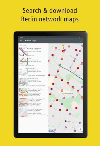 BVG Fahrinfo: Bus, Train, Subway & City Map Berlin 6.8.3 (108) Screenshots 16