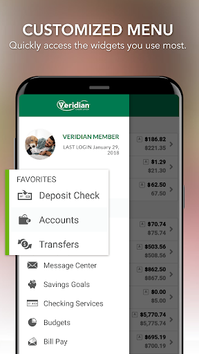 Veridian Credit Union Mobile Banking android2mod screenshots 6