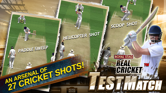Real Cricket™ Test Match 1.0.7 screenshots 4