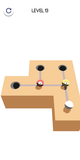 Marble hit 3D - Pool ball hyper casual game apkdebit screenshots 6