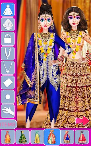 Indian Stylist Bride Dress up & Makeup Beauty Game screenshots 13