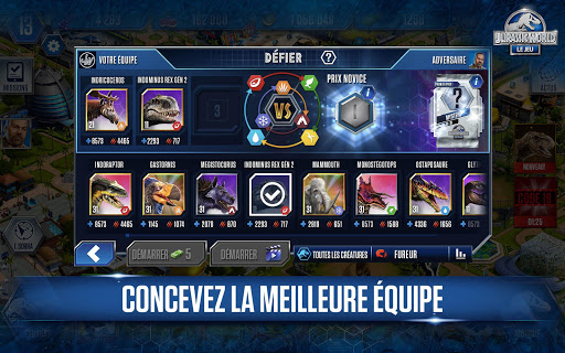 Code Triche Jurassic World™: le jeu (Astuce) APK MOD screenshots 3