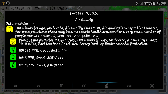 eMap HDF - weather, hurricanes and rain radar 2.2.8 Screenshots 23