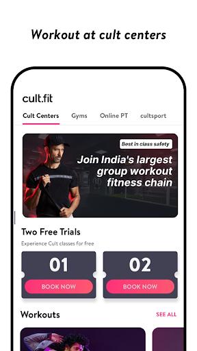 cult.fit Fitness, Meditation, Healthy food, Doctor  screenshots 2