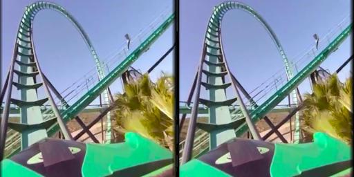 VR Thrills: Roller Coaster 360 (Cardboard Game) 2.1.7 Screenshots 8
