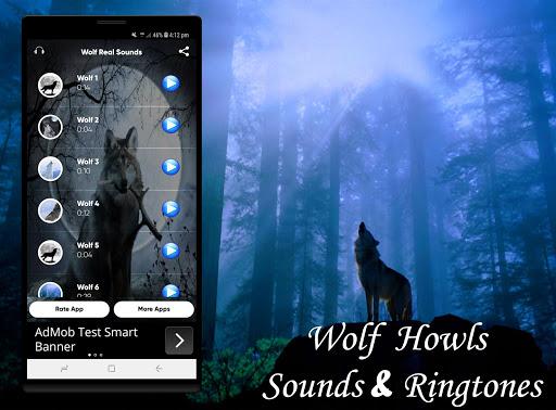 Wolf Sounds Ringtones 1.0 screenshots 1