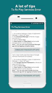 Play Services Info 2021(Update / Help & Error Fix) 1.1.8
