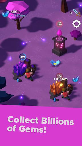 Swarm of Destiny: Fantasy World AfK Idle RPG Mix apklade screenshots 1