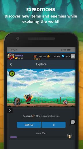 Mana Storia - Simple Browser MMORPG (Beta) 1.3 screenshots 7