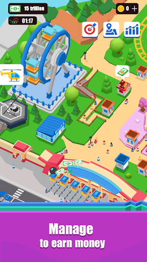 Idle Island Tycoon : Amusement Park 0.9 screenshots 1