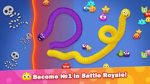 Worm Hunt .io - Battle royale snake game apkdebit screenshots 3