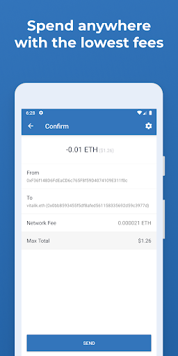Trust Crypto Wallet: Bitcoin Ethereum Tron XRP PAX  screenshots 7