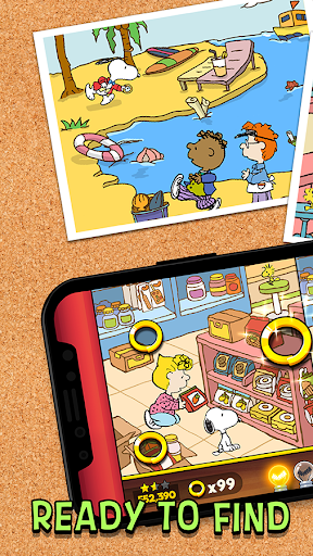 Snoopy Spot the Difference 1.0.48 screenshots 1