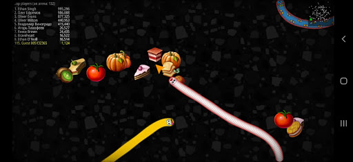 Worms Zone Snake Game apkpoly screenshots 9