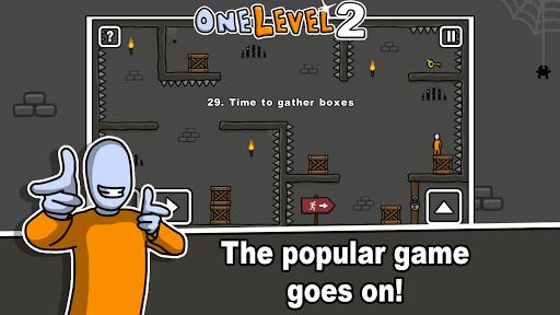 One Level 2: Stickman Jailbreak 1.8.1 screenshots 1