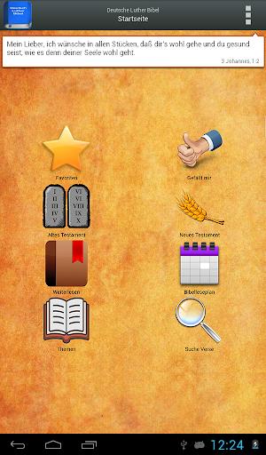 Deutsch Luther Bibel android2mod screenshots 9