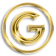 Gold Luxury - icon pack to galaxy htc or any phone  Icon