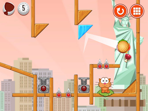 Hungry cat: physics puzzle game apkdebit screenshots 7