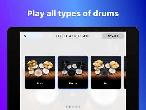 Drums: real drum set music games to play and learn 2.18.01 screenshots 11