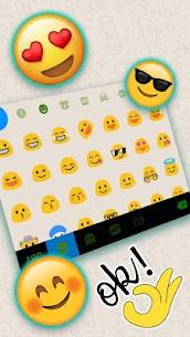 Sms Messenger Keyboard Theme 3