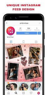 Grid Post – Photo Grid Maker for Instagram Profile MOD (Pro) 1