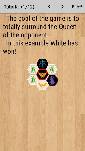 Hive with AI (board game) 12.1.2 screenshots 3