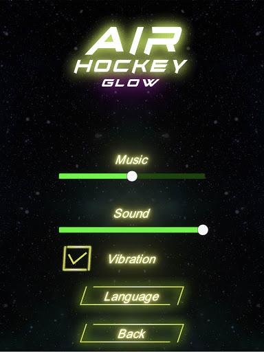 Air Hockey Glow HD screenshots 15