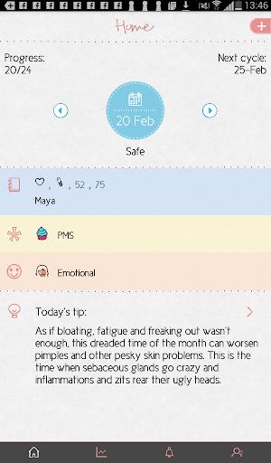 Maya - Period, Fertility, Ovulation & Pregnancy  Screenshots 8