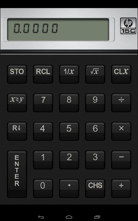 HP 15C Scientific Calculator  poster 6