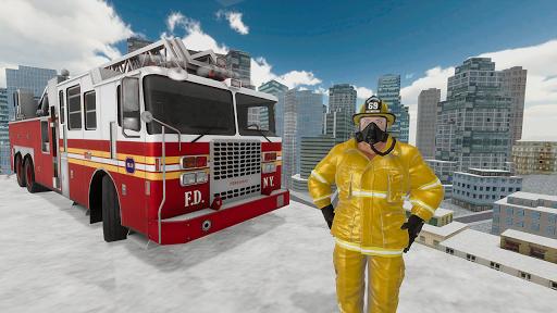 Fire Truck Driving Simulator 1.34 Screenshots 4