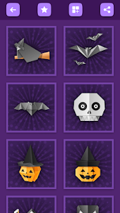 Origami Halloween Crafts: Step by Step Tutorials