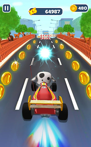 Fun Run Dog - Free Running Games 2020  screenshots 11